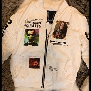 Peace Unltd NY Revolution Bomber Jacket Sz XL